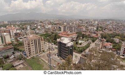 Kathmandu city aerial view, Nepal - Kathmandu city aerial...
