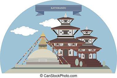 Kathmandu, capital and largest municipality of Nepal
