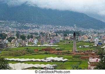 kathmandu, nepal, outskirts