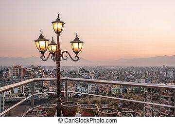 kathmandu, stad, nepal