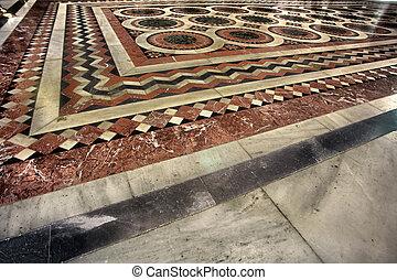 Katholikon Floor - Church of the Holy Sepulchre