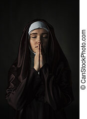 katolikus, apáca