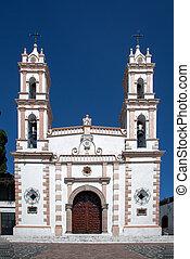 katolikus, templom, taxco, mexikó