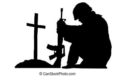 katona, árnykép