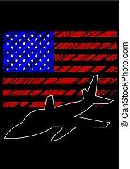 katonai repülőgép, egy