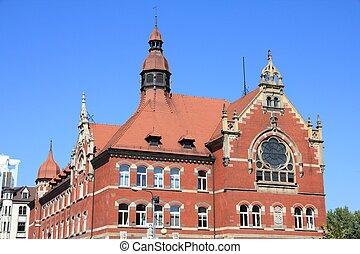 Katowice city, Poland