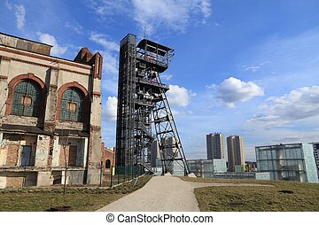 Katowice former industrial zone