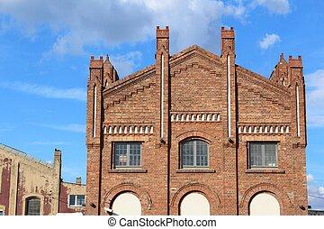 Katowice post industrial architecture