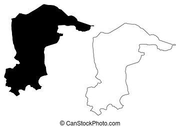 Katsina State map