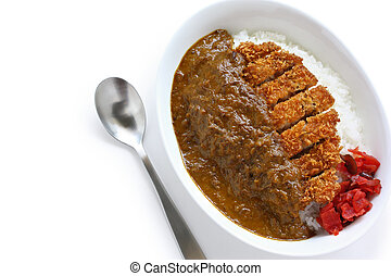 katsukare, japanese curry rice
