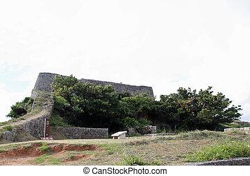 Katsuren Castle in Okinawa