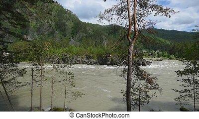katun, rivière, vue
