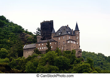 Katz Castle at the Rhine