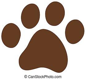 katz, hundepfote