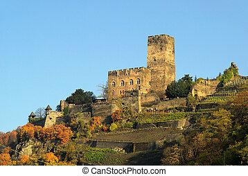 Kaub castle Gutenfels 01
