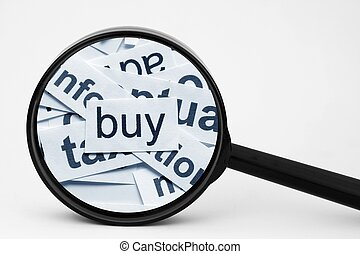 kaufen, begriff