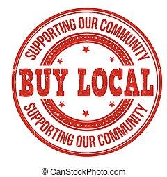 kaufen, briefmarke, lokal