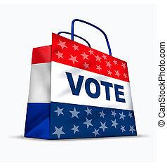 kaufen, stimmen, und, politisch, korruption