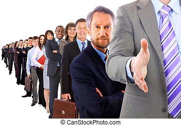 kaufleuten zürich, mit, ein, offene hand, bereit, zu, siegel, a, karten geben