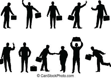 kaufleuten zürich, silhouetten