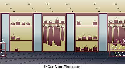 kaufmannsladen, inneneinrichtung