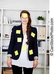 kaukasisch, businesswoman