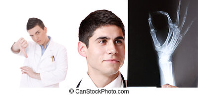 kaukasisch, vrouwtje arts