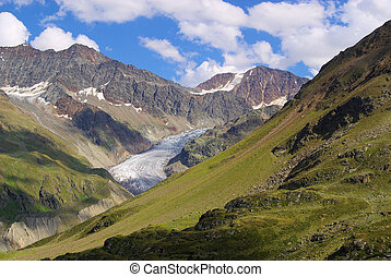 Kauner valley Gepatschferner glacier 01