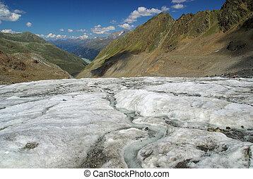 Kauner valley glacier 01