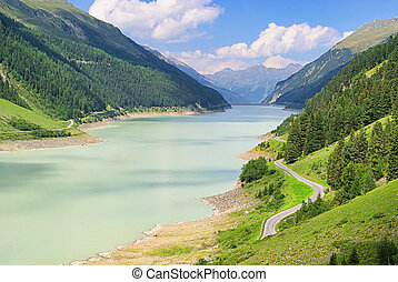 Kauner valley glacier road 10
