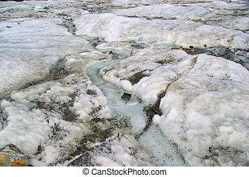 Kauner valley glacier