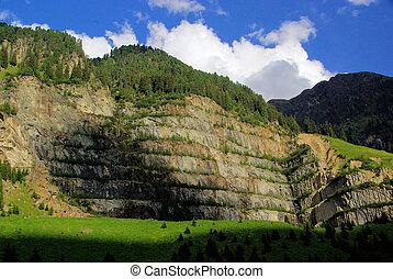 Kauner Valley quarry