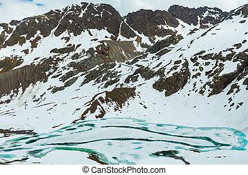 Kaunertal Gletscher view (Austria)
