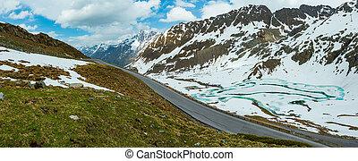 Kaunertal Gletscher view(Austria)