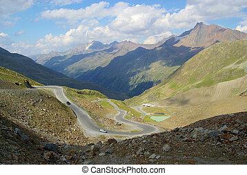 Kaunertal Gletscherstrasse - Kauner valley glacier road 05