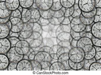 kavels, clocks