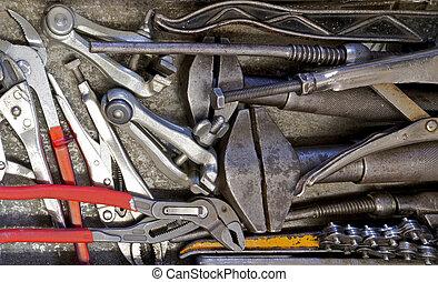 kavels, gereedschap, hand