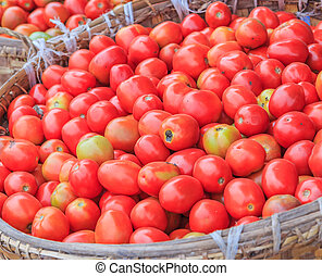Kavels, winkel, Tomaten