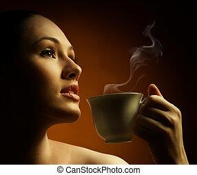 kawa, aromatyczny
