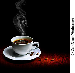 kawa, doskonały