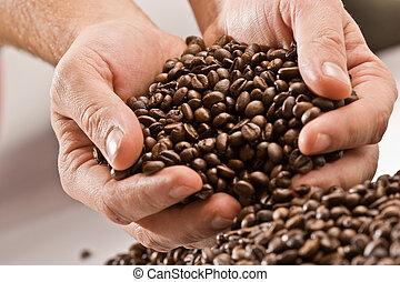 kawa, granuluje