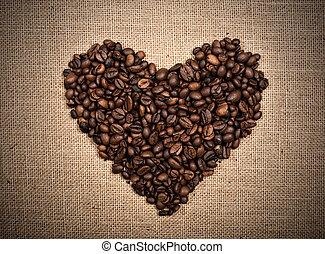 kawa, miłość
