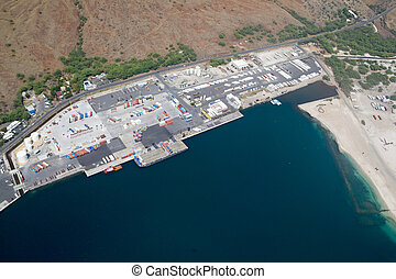 Kawaihae Harbor, Big Island, Hawaii