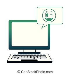 kawaii, λόγοs , ηλεκτρονικός υπολογιστής , αφρίζω , emoji