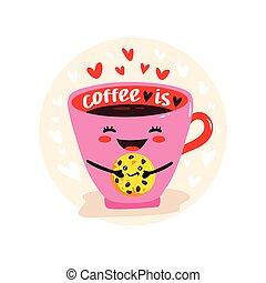 kawaii, かわいい, コーヒーカップ