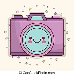 kawaii camera icon