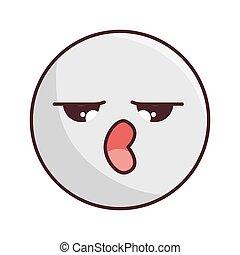 kawaii cartoon expression