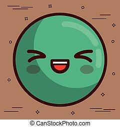 kawaii face icon