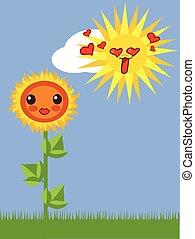 kawaii flowers 3 - Is a EPS Illustrator file