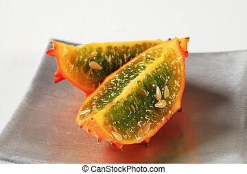 Horned melon - Kawani fruit - Horned melon